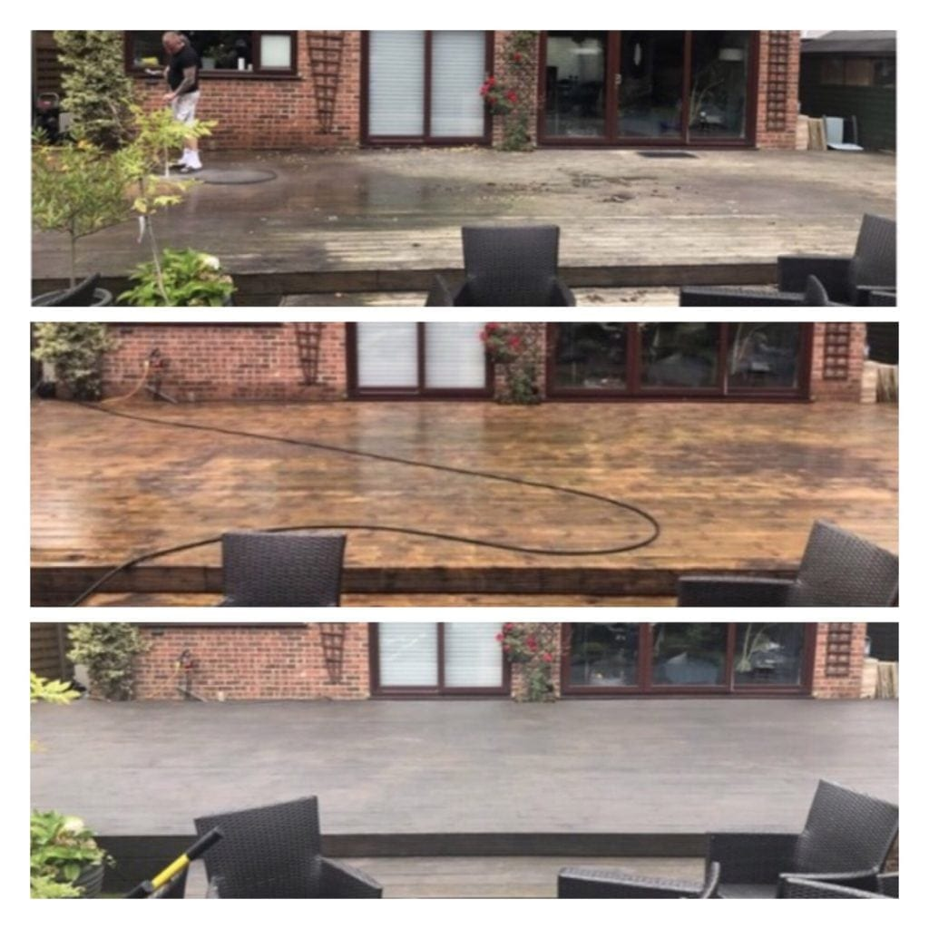 Decking and Woodwork Cleaning & Restorations