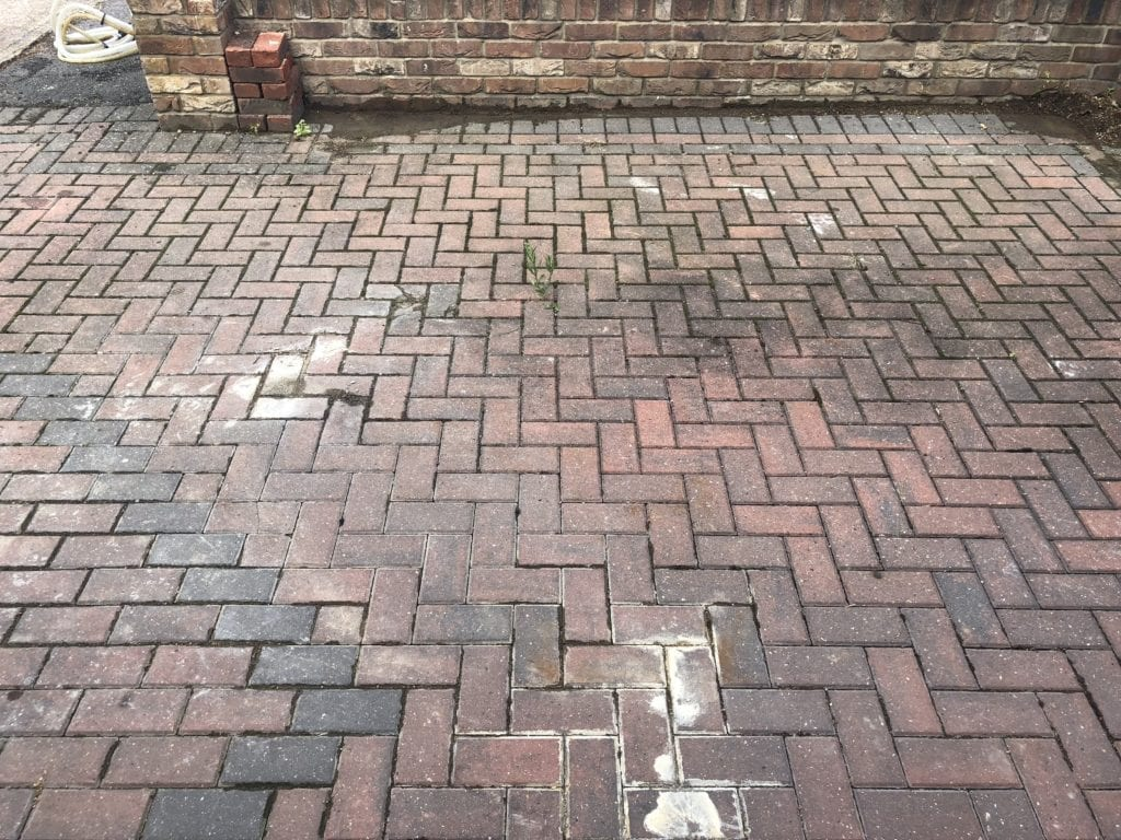 Concrete removal service - Driveway cleaning service