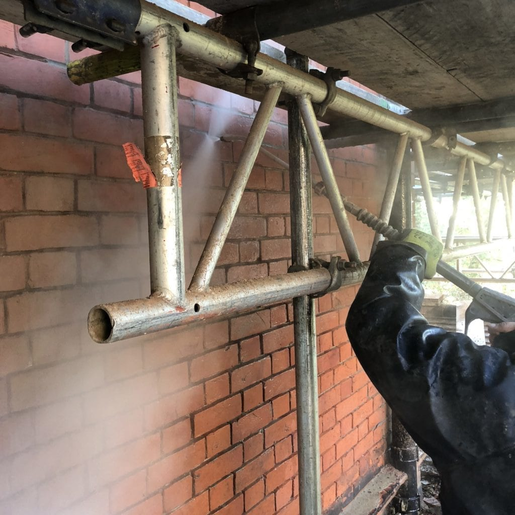 Victorian brick cleaning Hampstead London NW3
