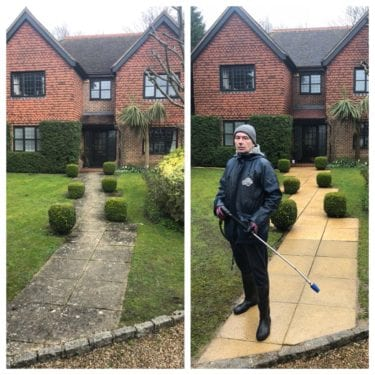 PATIO AND DRIVEWAY CLEANING SERVICES LONDON