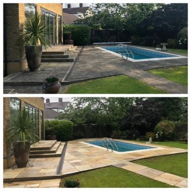 Natural Indian sandstone cleaning services Fletham, Middlesex
