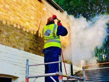 feel the pressure UK brick cleaning services