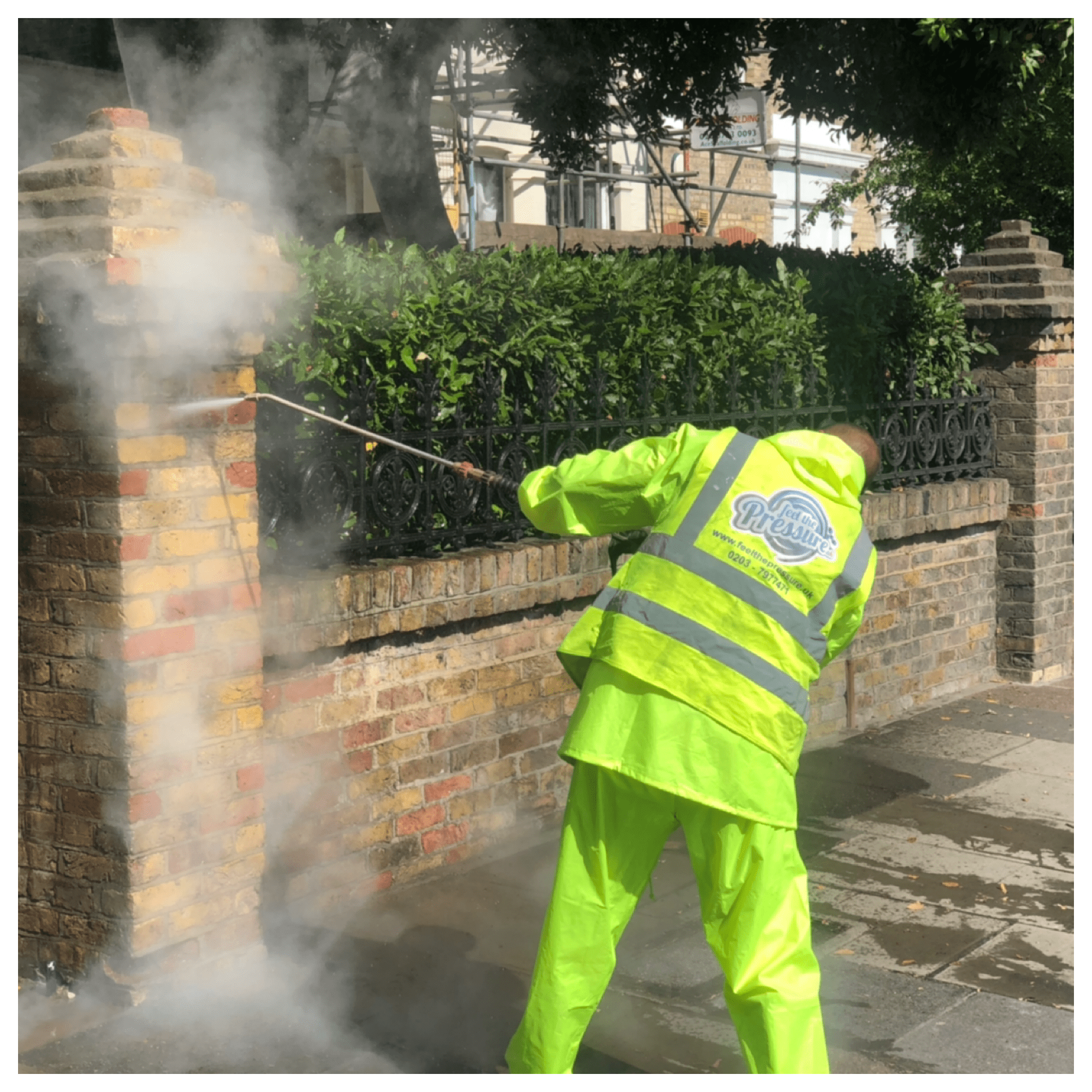 Doff brick cleaning, Feel the pressure Uk