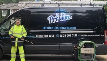 professional jet washing service, Feel the pressure UK