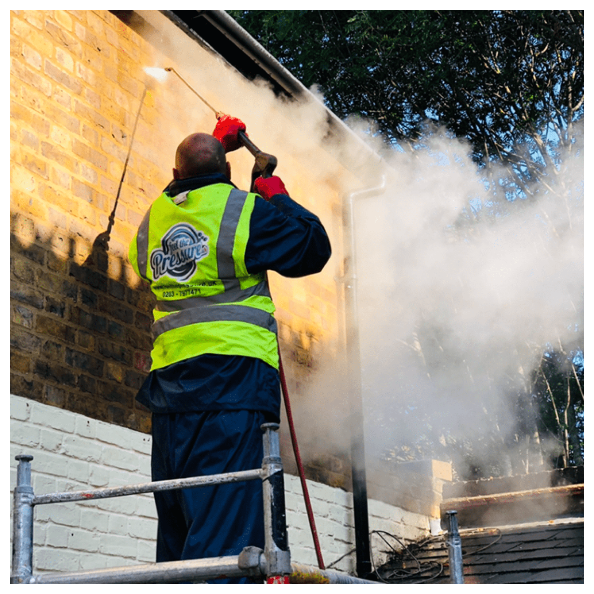 Brick cleaning services Feel the pressure UK
